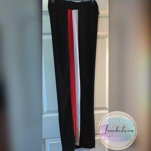 Pants - Wide-leg sporty dress pant